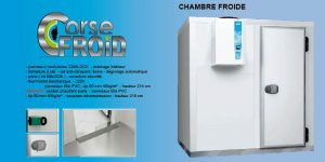 Chambre froide corsefroid for Thermostat chambre froide